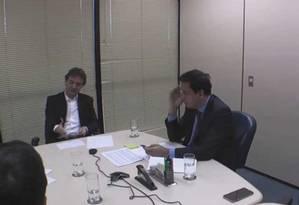 Joesley Mendonça Batista colaborou com a Justiça por meio da delação premiada Foto: Reprodução de vídeo