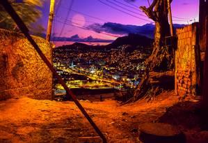 Vista deslumbrante. Alto do Morro da Providência: soldados que lutaram no Nordeste foram os primeiros habitantes do local Foto: Maurício Hora / Divulgação - 25-5-2007