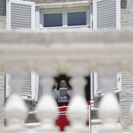 Papa anuncia novos cardeais durante oração com fiéis no Vaticano Foto: Gregorio Borgia / AP