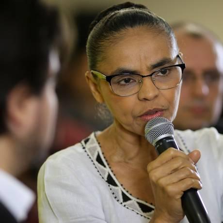 Em rede social, Marina defendeu cassação da chapa Dilma-Temer Foto: Pedro Kirilos / Agência O Globo