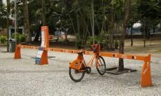 Número de bicicletas disponíveis nas estações não é o mesmo informado pelo aplicativo do serviço Foto: Agência O Globo / Barbara Lopes