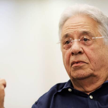 O ex-presidente Fernando Henrique Cardoso Foto: NACHO DOCE / Reuters/ 4-5-2017