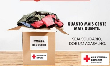 Campanha do agasalho 2017 Foto: Divulgação