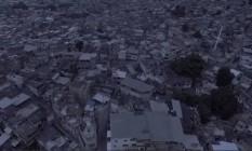 Imagem do Alemão feita por drone Foto: Divulgação