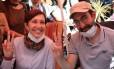 Os professores Nuriye Akman e Semih Ozakca tomavam apenas líquidos por mais de 70 dias, em protesto por terem sido demitidos depois da tentativa de golpe Foto: STRINGER / REUTERS