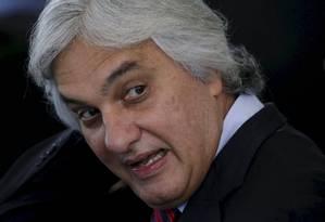O senador cassado Delcídio do Amaral Foto: Ueslei Marcelino/Reuters/17-11-2015