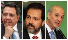 O assessor especial do presidente Michel Temer e os ex-governadores Agnelo Queiroz e José Roberto Arruda Foto: Montagem/O GLOBO