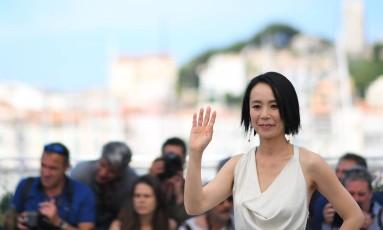 A japoensa Naomi Kawase lançou seu novo filme, 'Radiance', na mostra competitiva de Cannes Foto: ANNE-CHRISTINE POUJOULAT / AFP