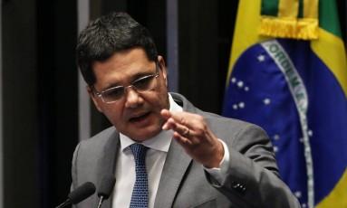Ricardo Ferraço (PSDB-ES) afirma que manterá o compromisso de levar à frente a reforma. Foto: Jorge William / O Globo