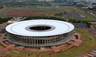 Estádio Mané Garrincha, em Brasília Foto: UESLEI MARCELINO / REUTERS