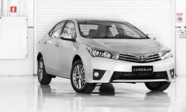 O Toyota Corolla 2014 está entre os que precisarão ter airbag trocado Foto: Divulgação