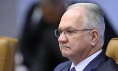 O ministro Edson Fachin é o relator da Lava-Jato no Supremo Tribunal Federal (STF) Foto: Jorge William / O Globo