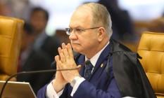 O ministro Edson Fachin é o relator da Lava-Jato no Supremo Tribunal Federal (STF) Foto: Aílton de Freitas / O Globo