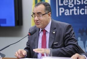 O deputado federal Celso Jacob (PMDB-RJ), durante sessão da Comissão de Legislação Participativa Foto: Lucio Bernardo Jr/ Câmara dos Deputados/20-10-2016