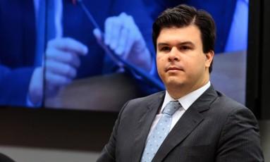 O ministro de Minas e Energia, Fernando Bezerra Coelho Filho, participa de sessão em comissão da Câmara dos Deputados Foto: Jorge William / Agência O Globo/10-05-2017