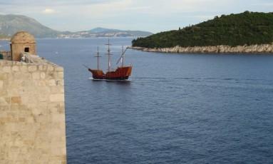 """Protegido por muralhas, o centro histórico de Dubrovnik representa Kings Landing, na série """"Game of thrones"""" Foto: Cristina Massari"""