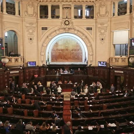 Expectativa. Governo estadual acredita que terá de 39 a 42 votos a favor da nova alíquota Foto: Márcio Alves / Agência O Globo