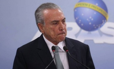 Base governista de Michel Temer já faz cálculos para uma possível eleição indireta Foto: Jorge William / Agência O Globo