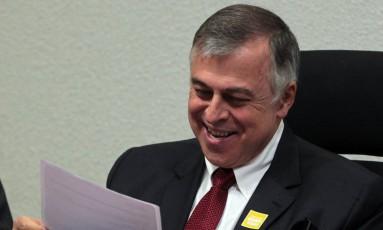 Paulo Roberto Costa durante depoimento na Comissão Parlamentar de Inquérito da Petrobras, em Brasília (10/06/2014) Foto: Givaldo Barbosa/Agência O Globo