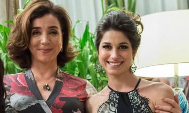 Marisa Orth e Chandelly Braz Foto: Divulgação/TV Globo