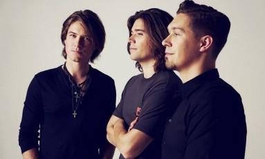 Taylor, Zac e Isaac: os irmãos Hanson Foto: Divulgação