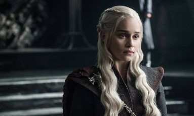 Daenerys Targaryen (Emilia Clarke) em cena da sétima temporada de 'Game of thrones' Foto: Divulgação