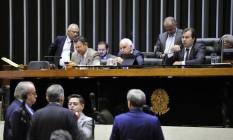 Sessão extraordinária na Câmara dos Deputados para votação de reformas Foto: Alex Ferreira / Câmara dos Deputados