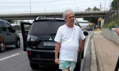 """O agente fazendário Ary Ferreira da Costa Filho, da Receita estadual, conhecido por """"Sombra"""", foi preso em fevereiro Foto: Polícia Rodoviária Federal"""