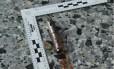 Foto mostra o detonador usado pelo jovem suicida em Manchester na segunda-feira, que deixou 22 mortos e dezenas de feridos Foto: HANDOUT / AFP