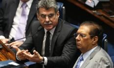 O senador Romero Jucá (PMDB-RR) lider do Governo no Senado Foto: Ailton de Freitas / Agência O Globo