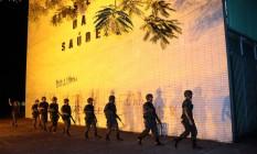 Exército faz patrulhamento na Esplanada dos Ministérios Foto: Jorge William / Agência O Globo