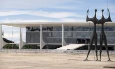 BRASIL - Brasília - BSB - PA - 01/03/2017 - PA - Fachada do Palácio do Planalto. Foto de Jorge William / Agência O Globo Foto: Jorge William / Agência O Globo