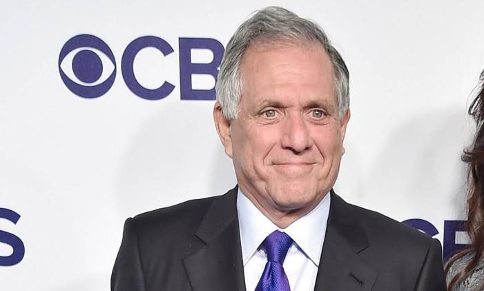 Les Moonves, diretor-executivo da CBS Foto: Theo Wargo / AFP