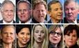 Homens e mulheres CEOs mais bem pagos do mundo. Foto: Agências internacionais