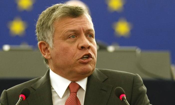 O rei Abdullah II, da Jordânia Foto: Christian Lutz / AP