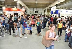 Feira do Estudante vai oferecer 5 mil vagas para estágio e 2 mil para aprendizagem Foto: Divulgação/Facebook