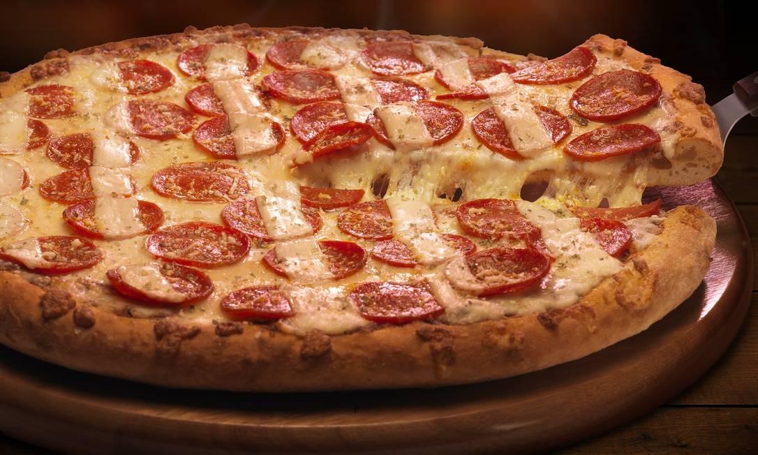 Domino's é conhecida pela rapidez na entrega das pizzas Foto: Cesar Hamdan / Divulgação