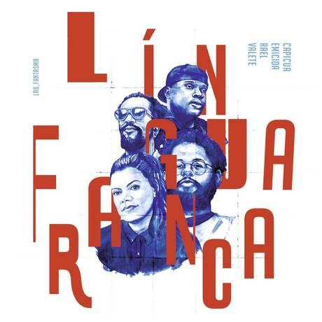 Parte da capa de 'Língua franca' Foto: Divulgação