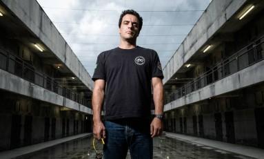 Rodrigo Lombardi é o protagonista da série Foto: Divulgação/TV Globo/Ramon Vasconcelos