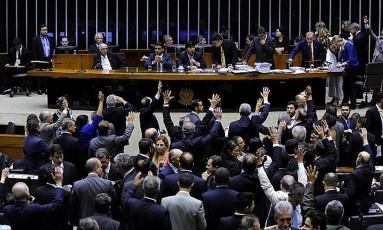 Câmara aprova enxurrada de medidas provisórias Foto: LUCIO BERNARDO JR / Agência Câmara