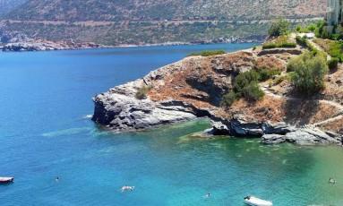 A população da região de Mylopotamos, na Grécia, é conhecida por ter vida longa e saudável Foto: Reprodução da internet