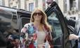 Melania Trump na Itália: casaco custa US$ 51 mil Foto: Domenico Stinellis / AP