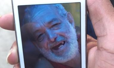Wilson de Oliveira foi baleado em casa Foto: Divulgação - Rio de Paz
