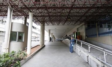 Hospital Municipal Souza Aguiar. Foto Pablo Jacob / Agência O Globo