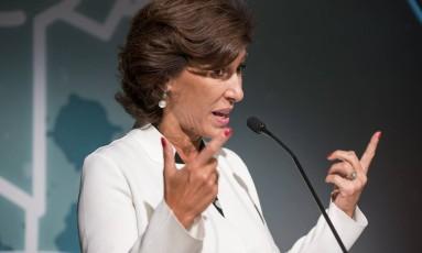 A ex-presidente do BNDES, Maria Silvia Bastos Marques Foto: Parceiro / Agência O Globo