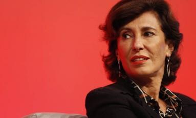Ex-presidente do BNDES, Maria Silvia Bastos Foto: Edilson Dantas / Agência O Globo