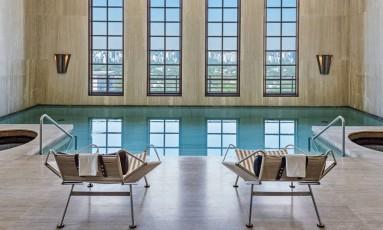 Piscina. Espaço pode ser usado por clientes do spa do Hotel Fasano Foto: Daniel Pinheiro/Divulgação