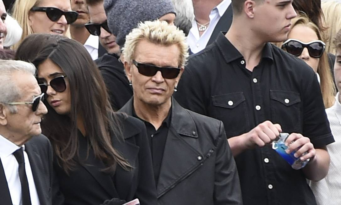Billy Idol no funeral de Chris Cornell Chris Pizzello / AP