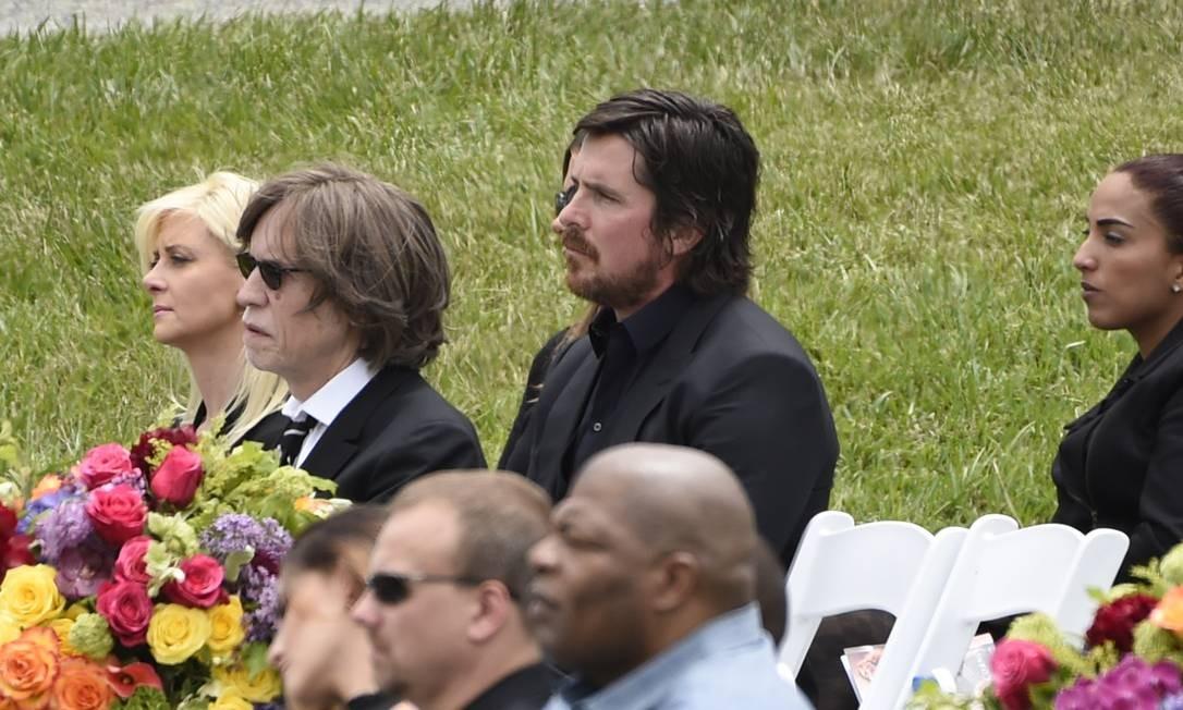 Assim como Christian Bale Foto: Chris Pizzello / AP