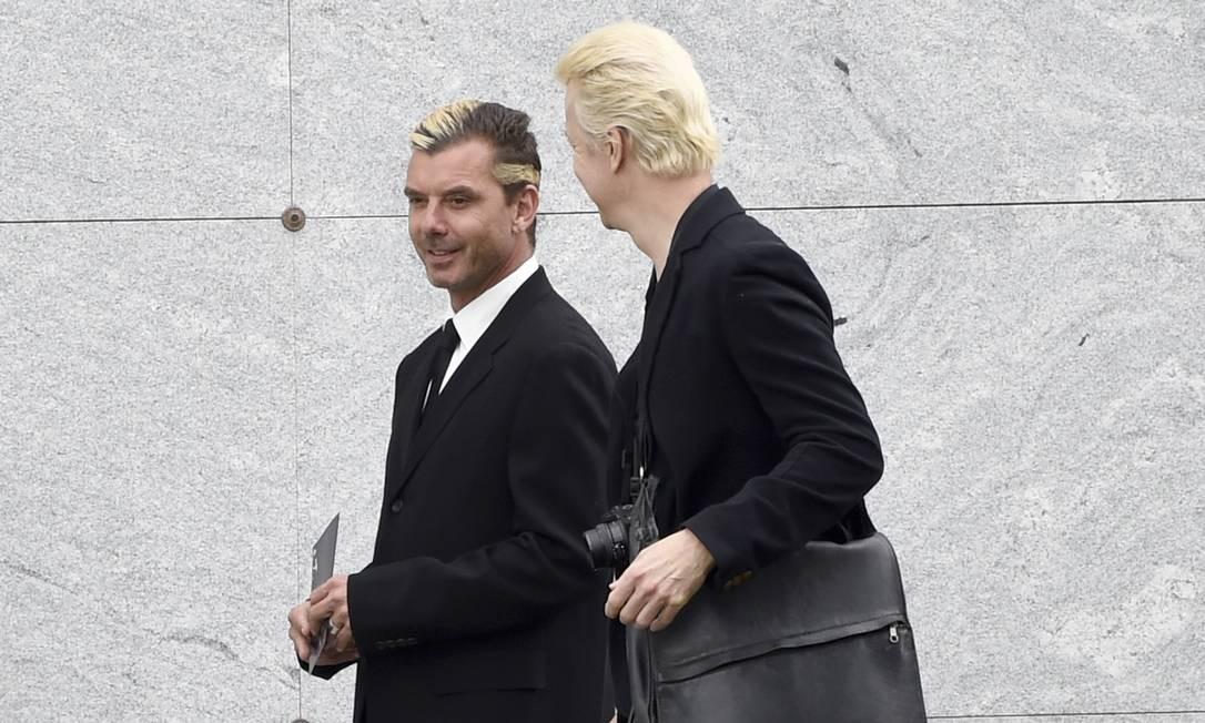 Gavin Rossdale, do Bush, no funeral de Chris Cornell Chris Pizzello / AP